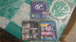 3 giochi originali per ps3