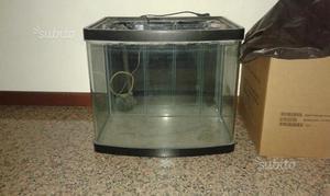 Acquario 60 lt con mobilettomangiatoiatermostato posot class for Acquario bianco usato