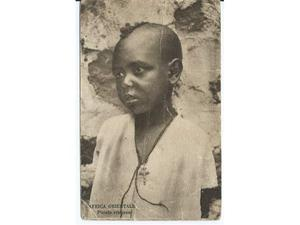 Africa Orientale, piccolo cristiano,