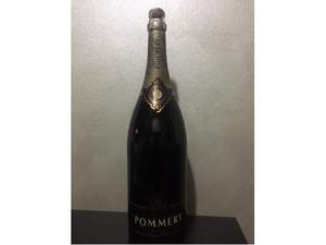 Bottiglia magnum 3 litri champagne Pommery del
