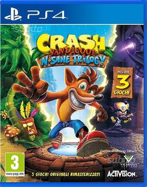 Crash Bandicoot: N. Sane Trilogy PS4 ITA