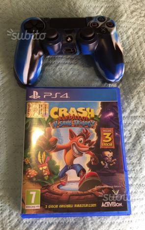 Crash Bandicoot Ps4 + Dualshock ps4 nuovi