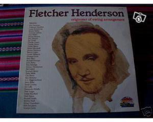 """Disco Lp 33 giri Jazz """"Fletcher Henderson"""" conservazione"""