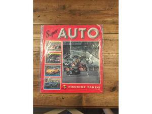 FIGURINE PANINI Album Super Auto - Completo