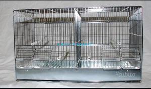 Gabbia 65 cova canarino cardellino uccelli nuova