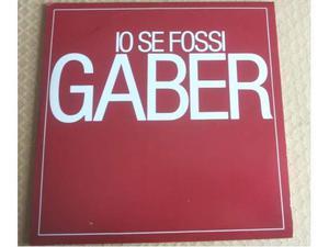 Giorgio Gaber (33 giri raro) - Io se fossi Gaber (ACLM