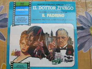 """Le grandi colonne sonore """"il dott.zivago/il padrino lp33giri"""