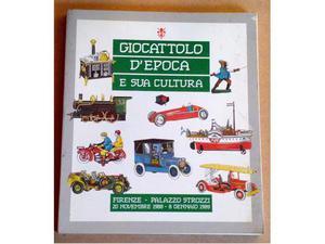 Libro Giocattolo d'epoca e sua cultura
