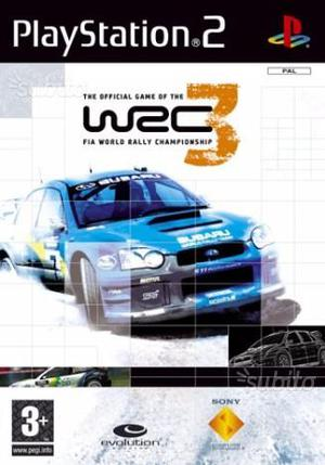 PLAYSTATION 2 WRC 3 gioco ufficiale rally NUOVO