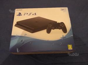 PS4 Slim 500gb Nuova + Play Station Plus 3 mesi