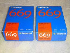 Pellicole Polaroid 669