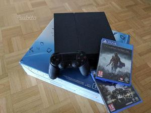 PlayStation 4 jetblack 1TB