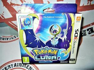 Pokemon Luna Fan Edition [SteelBook] Nuovo 3Ds