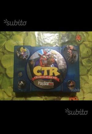 Ps1 Crash Bandicoot + 2 Giochi Ps1