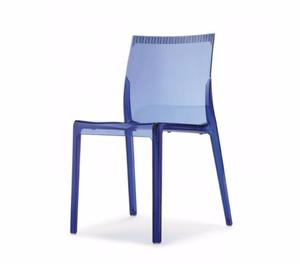 Jolly sedia in plastica policarbonato monoscocca posot class - Sedie policarbonato ...
