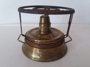 Spiritiera in ottone vintage brevettata