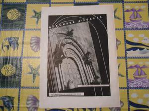 Stampa bellezze d'italia ruvo di puglia cattedrale anni 40