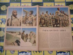 Stampa fascismo paracadutisti libici anni 40