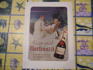 Stampa liquore monopol martinazzi anni 40
