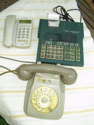 TELEFONO grigio SIP a disco