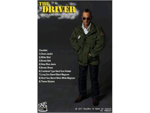 Taxi Driver Figure Box in scala 30cm