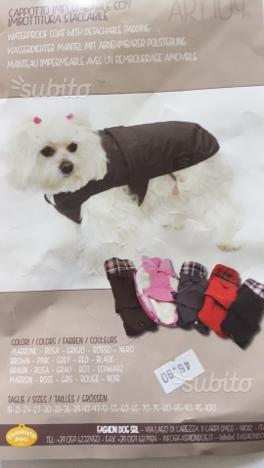Vestiti per cani nuovi Made in Italy