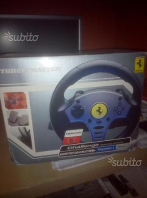 Volante e pedaliera Ferrari Thrustmaster