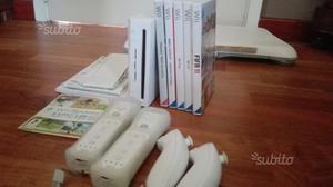 Wii + 6 giochi + balance board