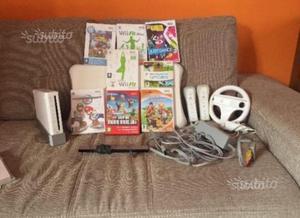 Wii con giochi e balance