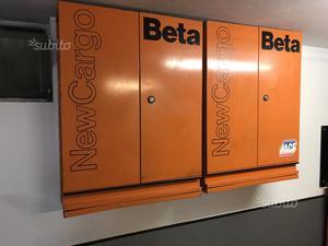 Armadietti carrelli banco BETA