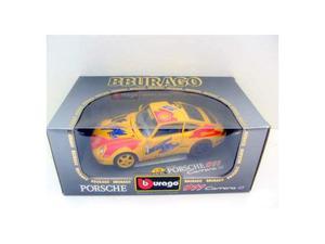 Burago  porsche 911 carrera gt  yellow #1