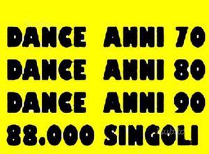 Dance anni  migliaia di singoli
