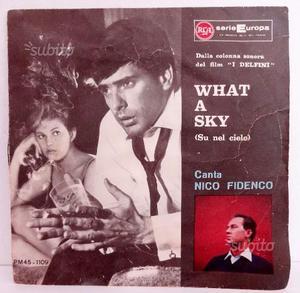 Disco vinile 45 giri Nico Fidenco