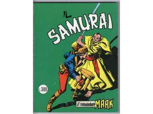 Il comandante mark cepim n. 25 - il samurai -  - lire