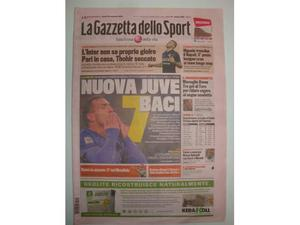 La Gazzetta dello Sport - Juve 7 baci-team Allegri