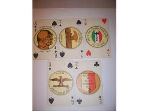 Militaria carte da gioco dux