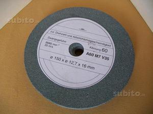 Mola A 60 M 7 V 35 diametro 150 X 12,7 X 16 mm