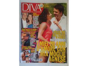 Rivista Riviste- Donna -DIVA- Renzi, Robin williams