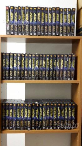 Serie completa in VHS dei Cavalieri dello Zodiaco
