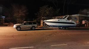 TRASPORTO roulotte caravan