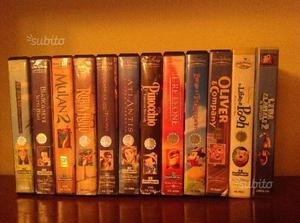 VHS Originali Walt Disney in blocco