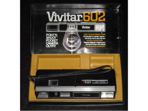Vtg Vivitar 602 completa di scatola originale