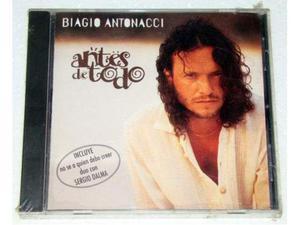 Biagio antonacci antes de todo cd canta in spagnolo