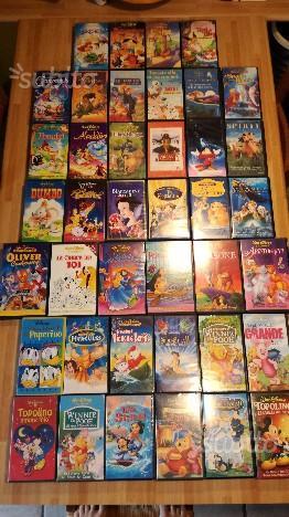 Collezione VHS Walt Disney