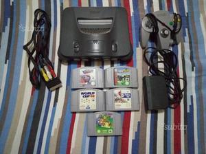 Console Nintendo 64 + 5 Giochi