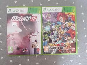 MotoGp15 & DragonBall Z Battle of Z XBOX360