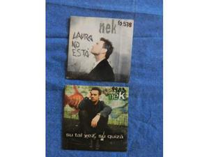 Nek 2 cds promo in spagnolo
