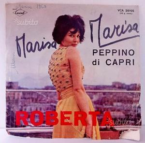 Peppino di Capri disco vinile 45 giri