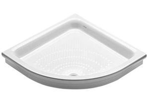 Piatto doccia angolare 80 ceramica dolomite