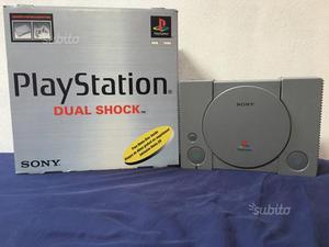 PlayStation 1 ps1 con scatola originale